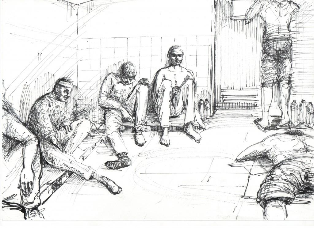 141020_sergey4-1-1024x744 Донецкий Бэнкси создал серию рисунков о пытках в плену у боевиков