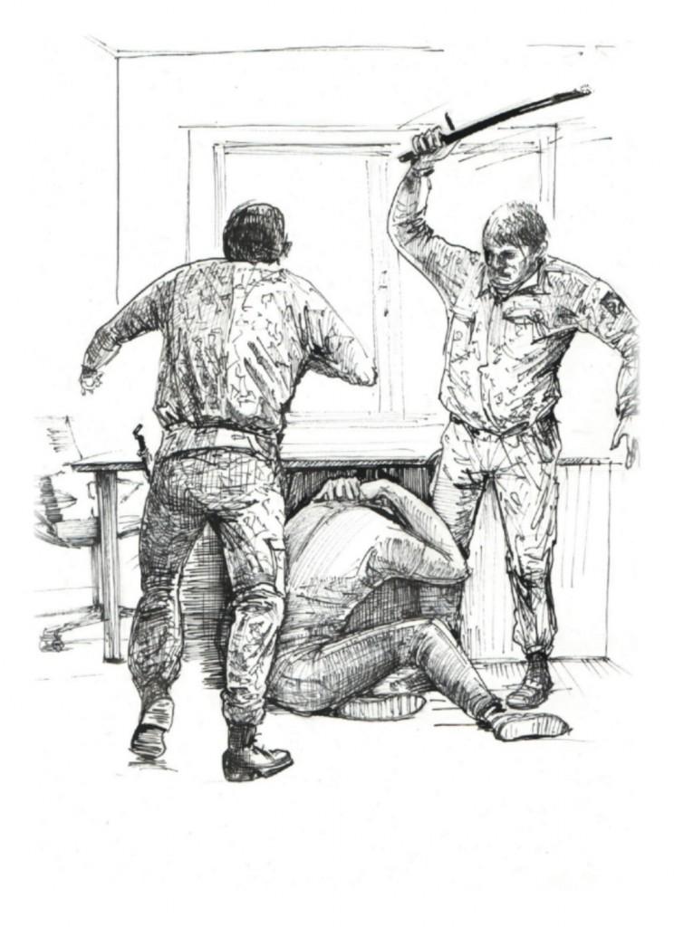 141020_sergey5_1-744x1024 Донецкий Бэнкси создал серию рисунков о пытках в плену у боевиков
