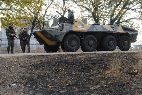 Морская пехота отрабатывает меры безопасности в Одесской области