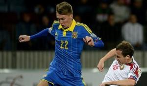 Сборная Украины обыграла Македонию в матче отбора Евро
