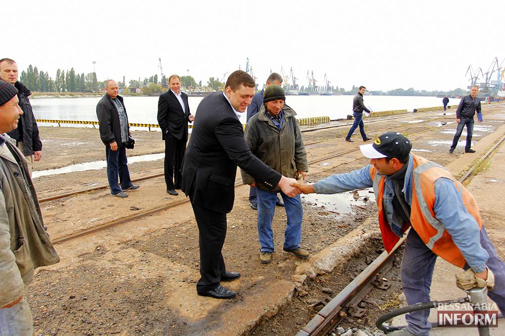 А. Дубовой посетил с рабочей поездкой Ренийский район (фото)