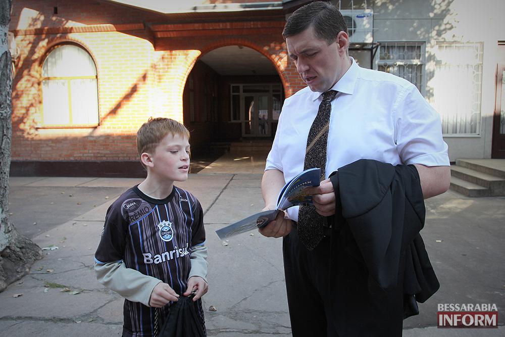 54 А. Дубовой посетил с рабочей поездкой Ренийский район (фото)