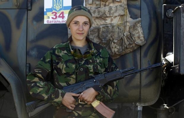 620_400_1412950893-1838 Женщины, которые  воюют (фото)