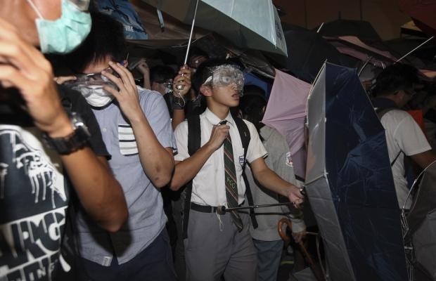620_400_1413439286-2723 В Гонконге возобновилось противостояние полиции и активистов (фото)