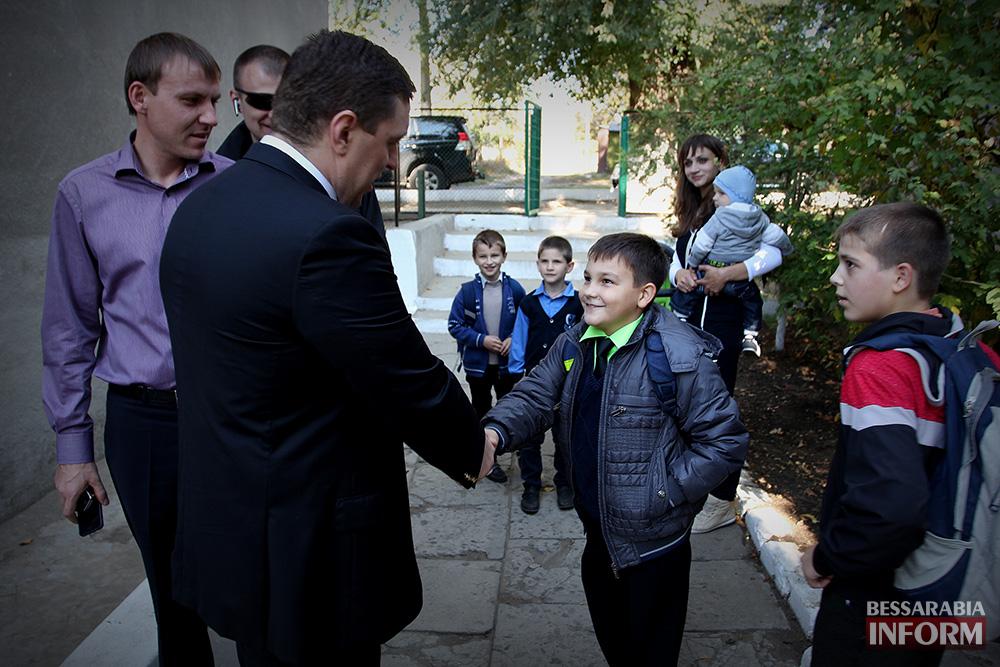 71 А. Дубовой посетил с рабочей поездкой Ренийский район (фото)