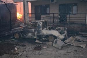 DSC_0044 В Белгороде-Днестровском районе сгорела база отдыха (фото)