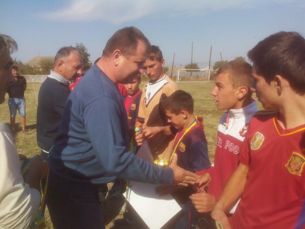 В Измаильском районе закончилось первенство по футболу (фото)