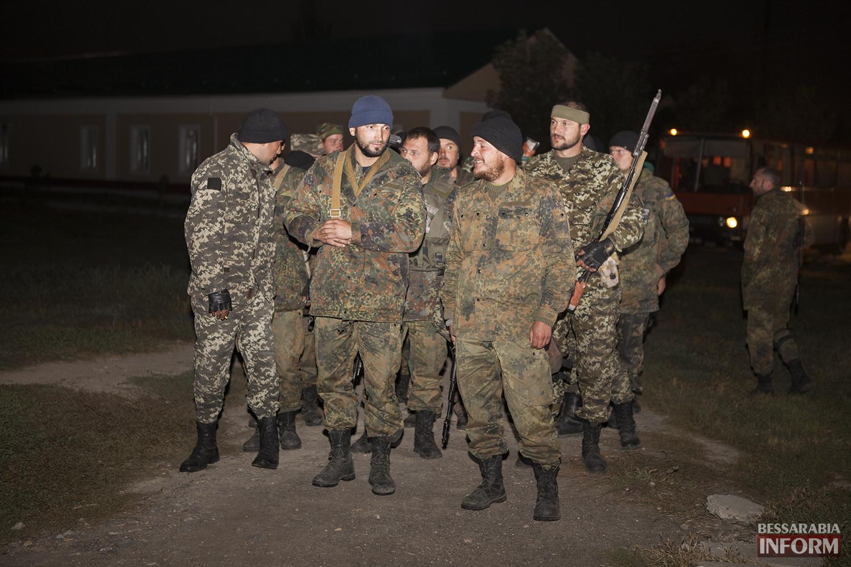 Измаильчане встретили пограничников прибывших из зоны АТО  (ФОТО)
