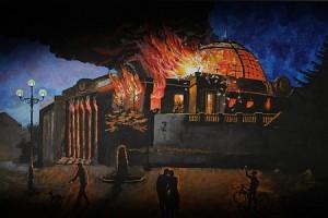 Rada_is_burning-300x200 Последний день Рады - перед смертью не надышишься
