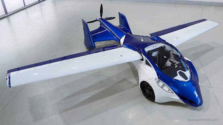 aero6 Будущее уже здесь: в Австрии показали рабочий летающий автомобиль (фото, видео)