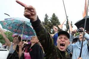 dnr-300x200 70% жителей Донбасса выступают против ДНР