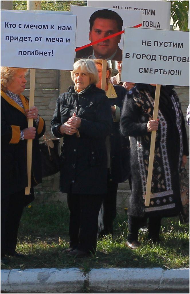 """В Рени оказали """"теплый"""" прием кандидату в депутаты (обновлено)"""