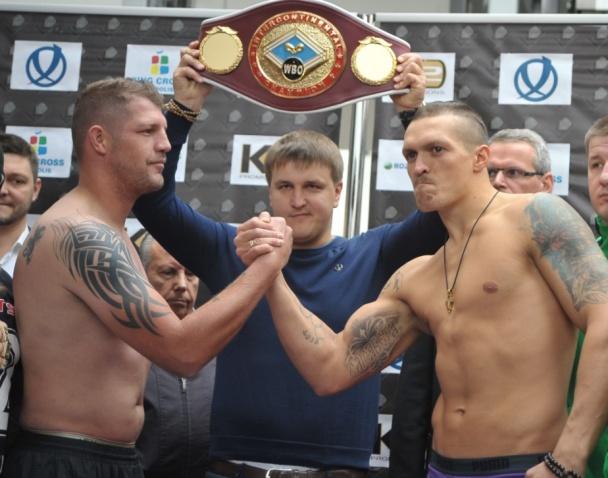 ysyk Украинец Усик завоевал первый чемпионский титул (фото)