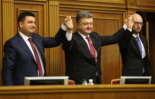 54772c493a750 Порошенко, Яценюк и Гройсман: новое лицо украинской власти