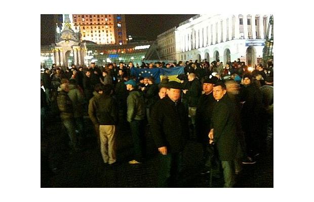 Первая годовщина Евромайдана: как начиналась революция