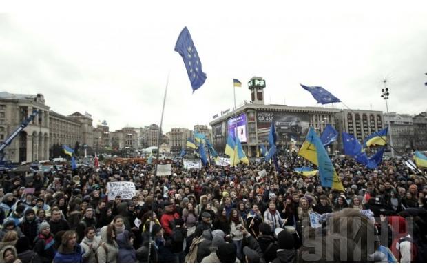 620_400_1416485228-5737 Первая годовщина Евромайдана: как начиналась революция