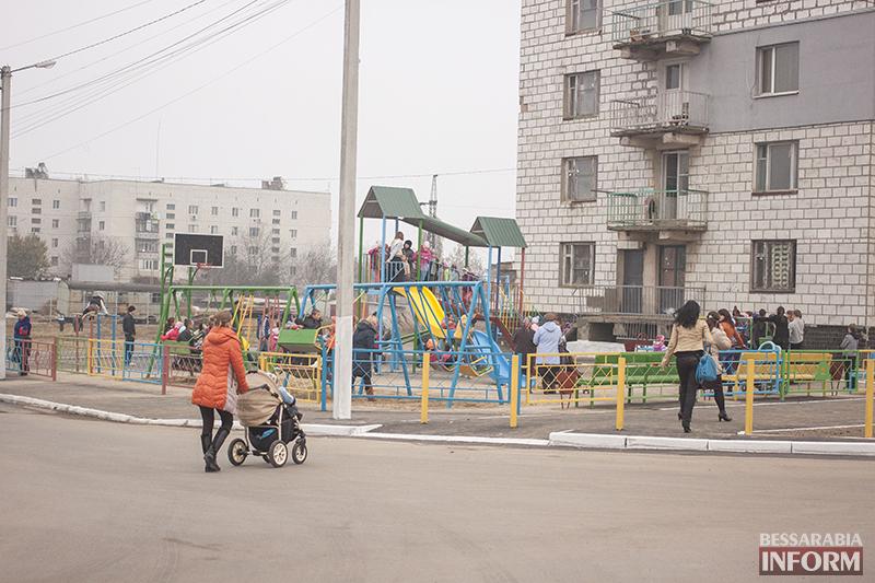 IMG_1222-копия В Измаиле открыта еще одна детская площадка (ФОТО)