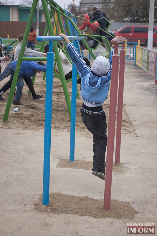 IMG_1244-копия В Измаиле открыта еще одна детская площадка (ФОТО)