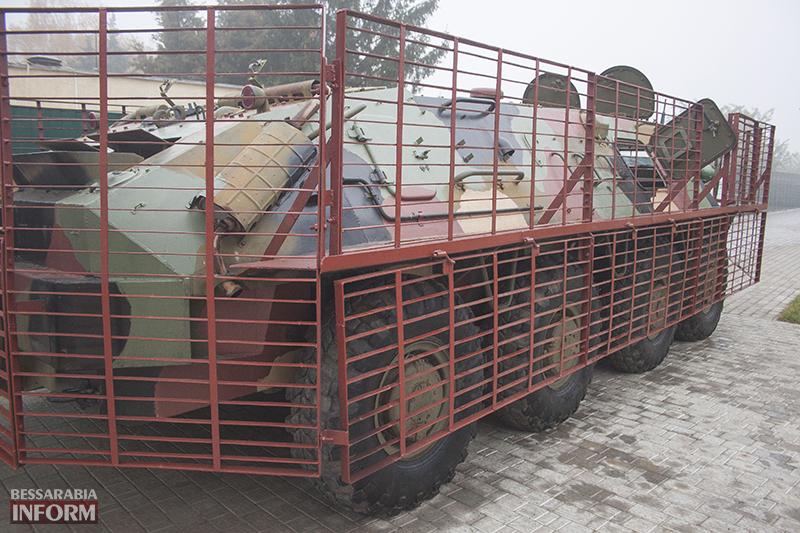 bronemashuna-izmaily-13 Измаил: С недели пограничники отправят новый бронетранспрот на АТО (ФОТО)