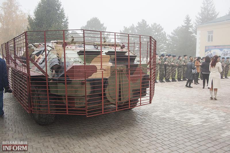 bronemashuna-izmaily-4 Измаил: С недели пограничники отправят новый бронетранспрот на АТО (ФОТО)