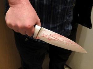 knife-300x225 Главное - квартира. Женщина чуть не убила родную мать