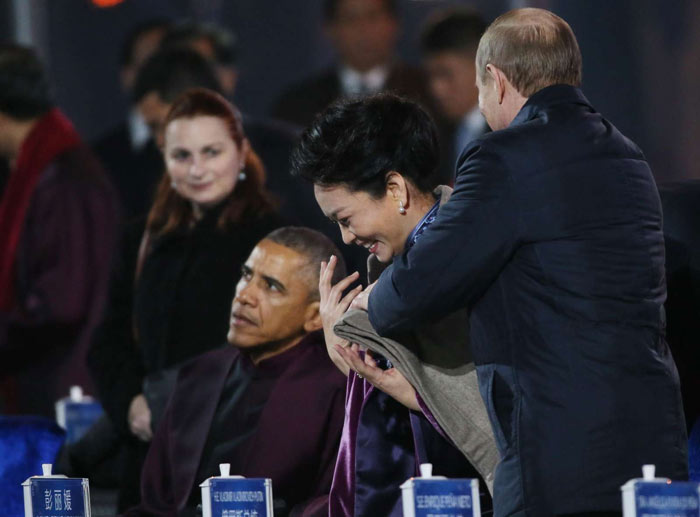 putin-love-china2 Путин в Китае нарушил деловой этикет (ФОТО, видео)