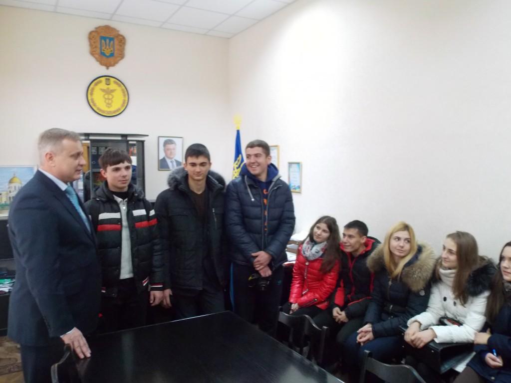 Болградские школьники посетили ГНИ