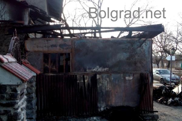 """В Болграде сгорела """"Новая почта"""". Поджог? (фото)"""