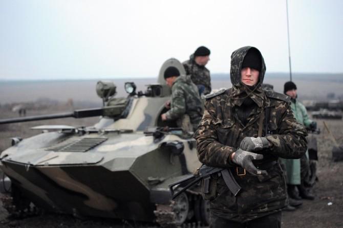 Солдатские будни  в зоне АТО
