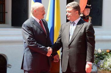 В воскресенье Порошенко и Лукашенко проведут переговоры по Украине