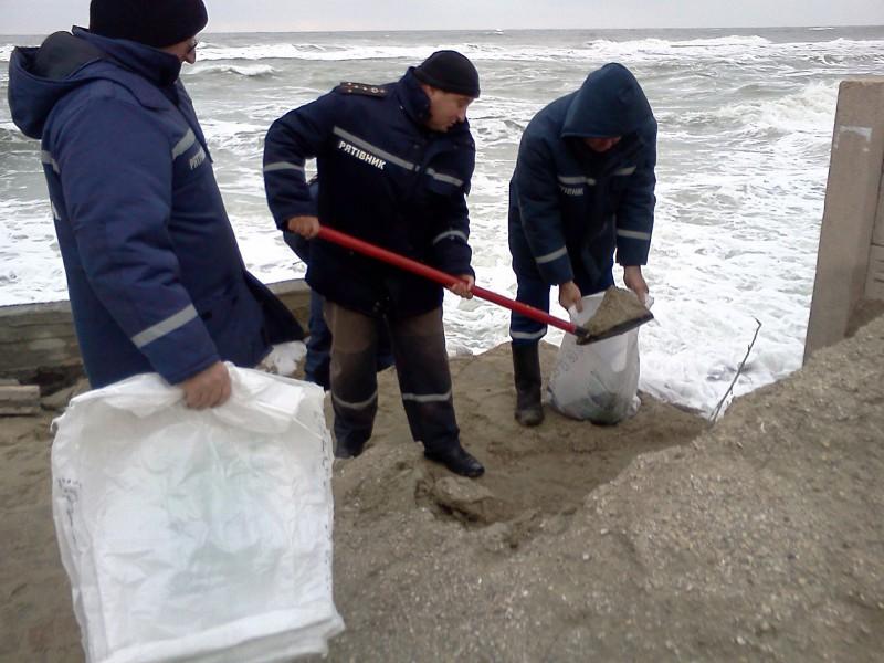 В Затоке спасли «Золотую рыбку»  (ФОТО)