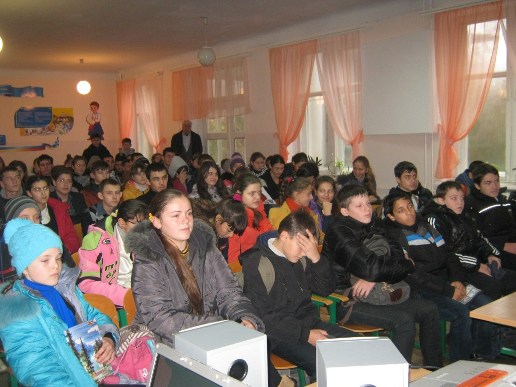 Измаильская милиция  провела встречу в школе-гимназии