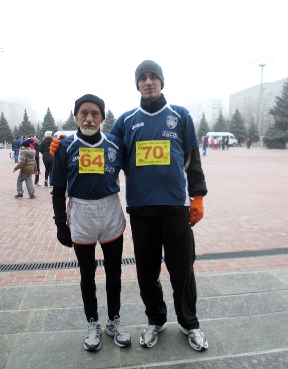 PM679image001 Измаильские правоохранители заняли призовые места по бегу (фото)