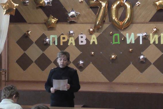 Белгород-Днестровская милиция встретилась со школьниками