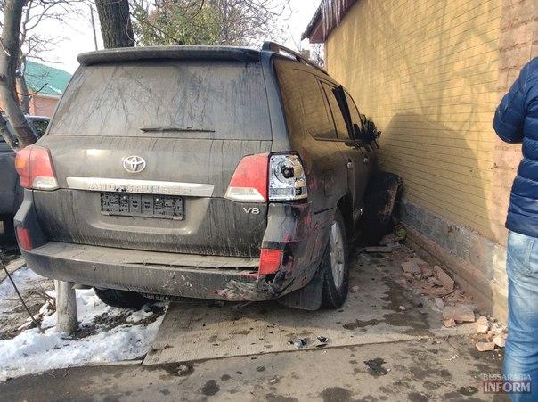 Тройное жесткое ДПТ на ул. Белгород - Днестровской в Измаиле (фото)
