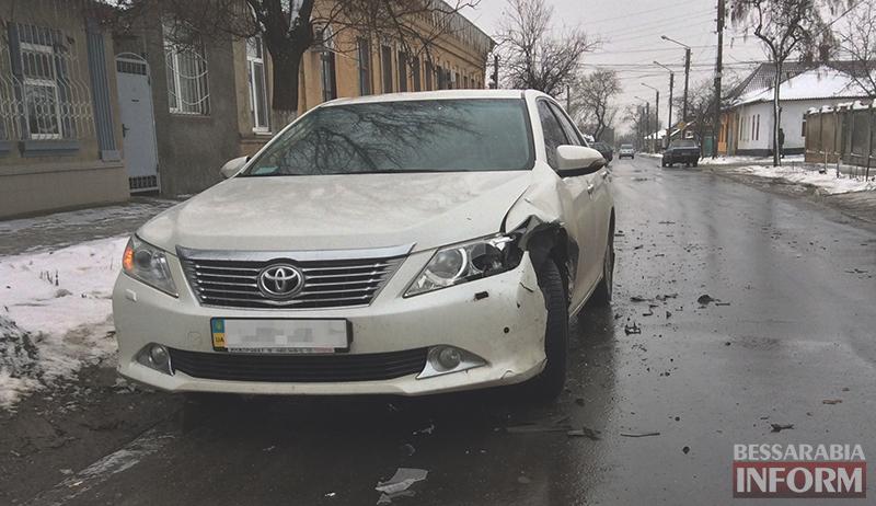 dtp-na-b-dnestrovskoi-izmail-1 ДТП в Измаиле: Белгород-Днестровскую не поделили Fiat и Camry (ФОТО)