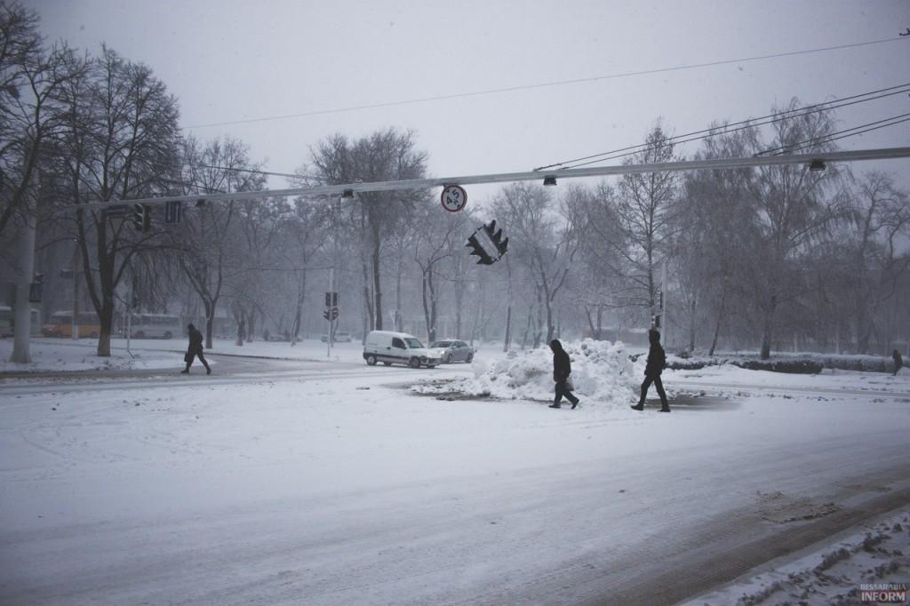 Снегопад в Бессарабии продолжится и завтра
