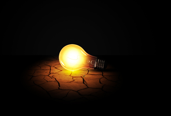 lampa В Одесской области стали реже выключать электричество