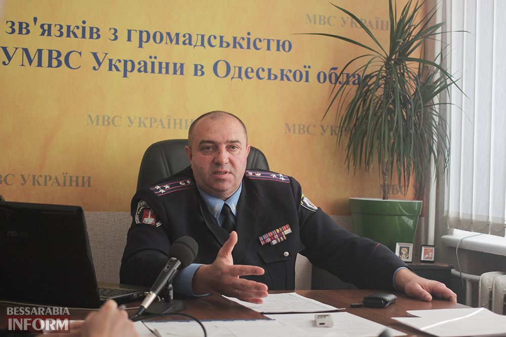 nachmil-tokar-izmail-4 Начальник Измаильской милиции ушел в рамках ротации?