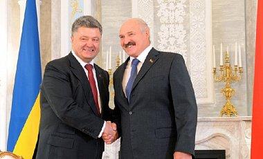 porosh-lukash Сегодня Порошенко встретится с Лукашенко