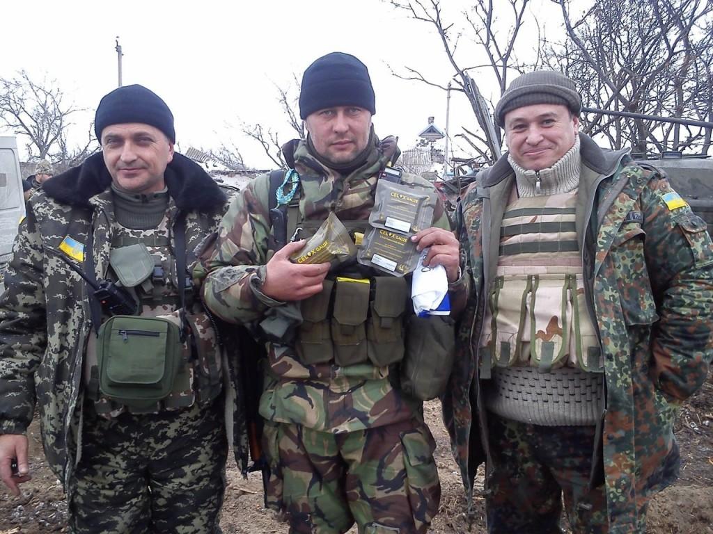 Белгород-Днестровские волонтеры отправили посылку в зону АТО (фото)