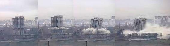 """В Севастополе появилась """"Пизанская башня"""" (Видео, онлайн)"""