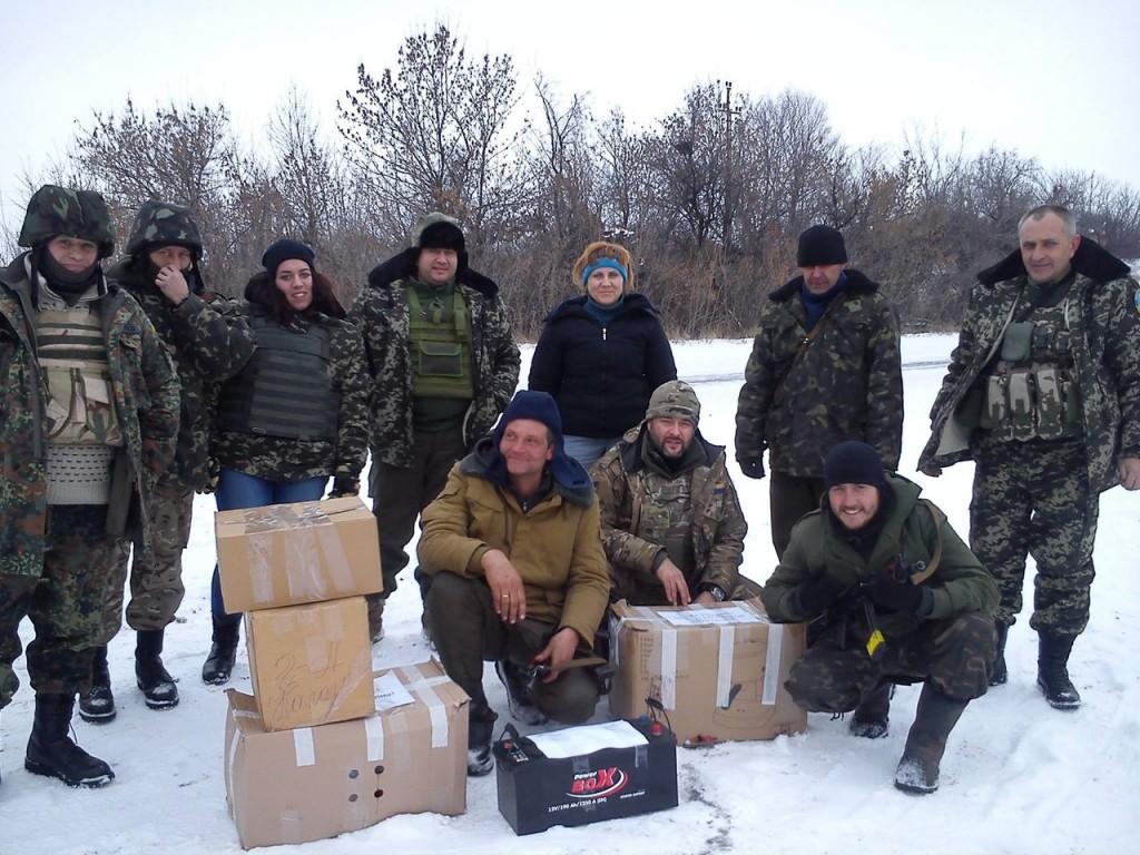 tHYkWlhlhvM-1024x768 Белгород-Днестровские волонтеры отправили посылку в зону АТО (фото)