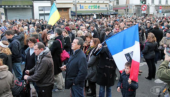 Марш в Париже показал, почему так важен успех украинцев