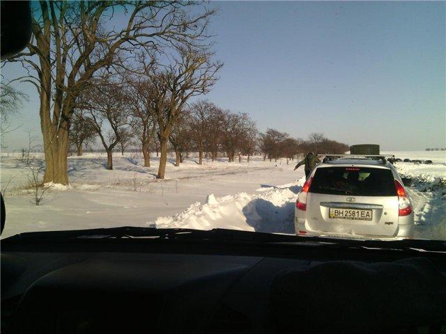 """Единственной в области трассой, где запрещено движение, остается """"Одесса - Измаил"""" (фото, видео)"""