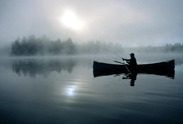 18706 Из-за тумана в Болграде рыбак не мог вернуться домой