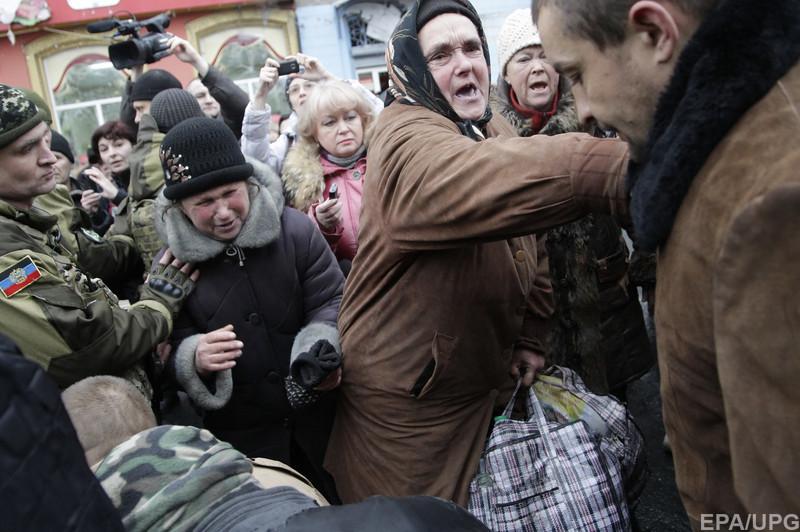 Блогер разоблачил инсценировку массовой ненависти дончан на «марше пленных»