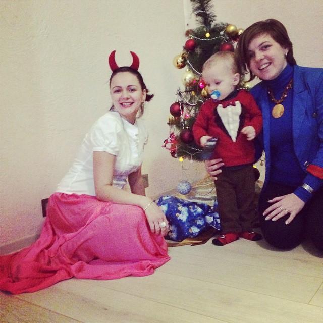 Новогодняя ночь: Что публиковали Измаильчане в Instagram (фото)