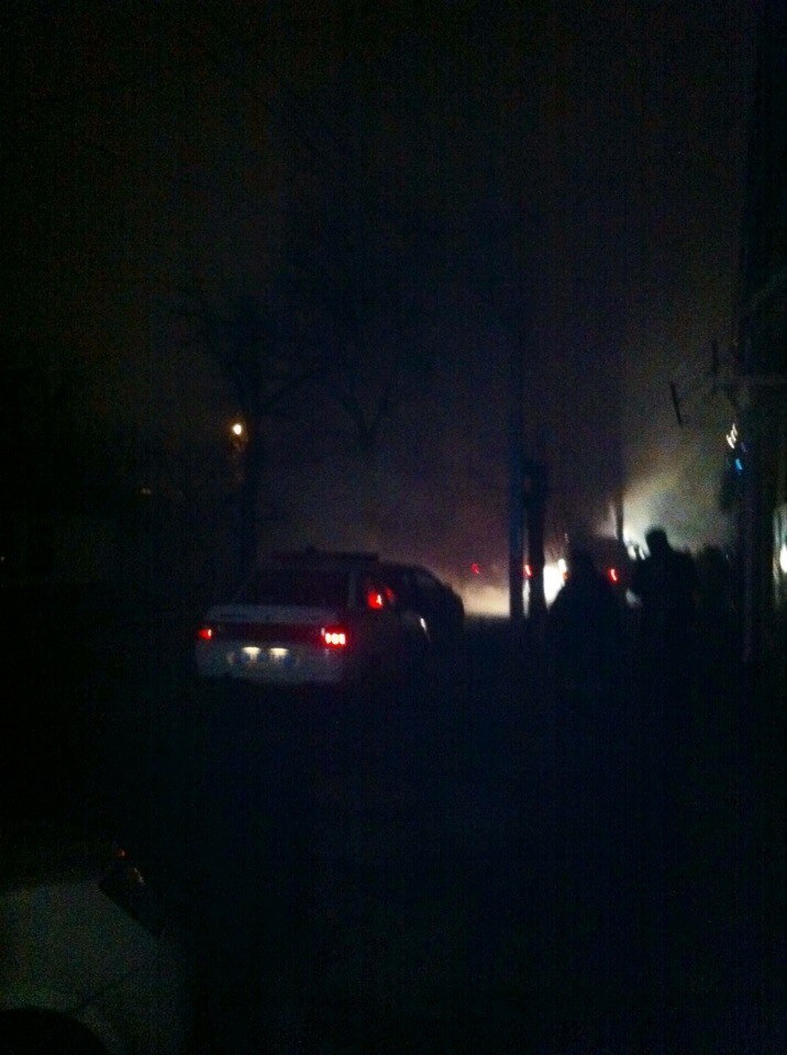 Измаильская милиция о ночном пожаре в автомастерской