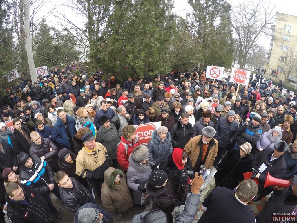 Измаил митингует против бездействия милиции (фото, обновлено)